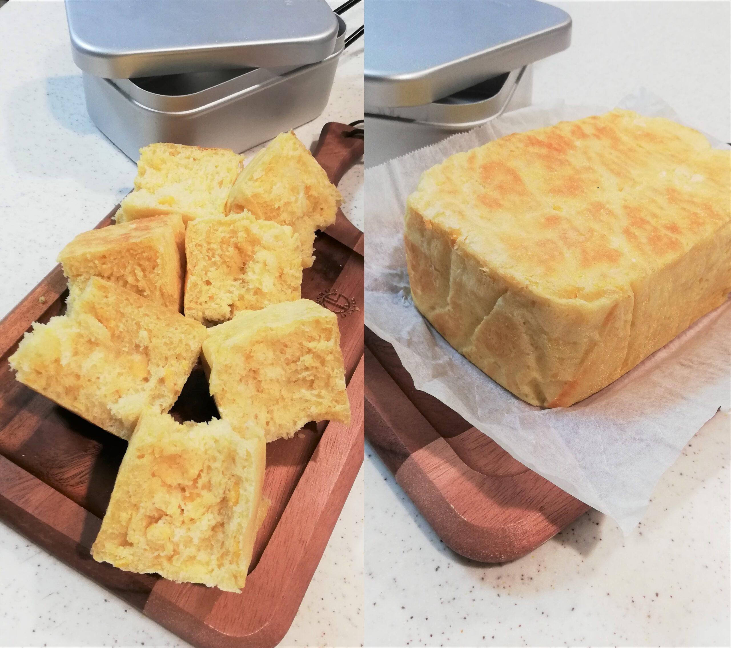 【メスティンパン】コストコ風のコーンパンを焼こう! 作り方を紹介します